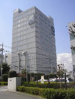 高所ビル壁面看板 東京都八王子市