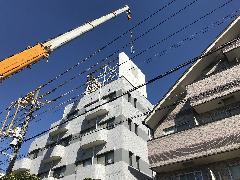屋上看板撤去 マンション 千葉県市川市