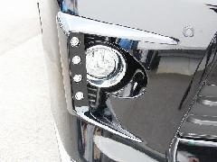 20ヴェルファイア後期Zグレード 純正バンパー用LEDデイランプキット FRP未塗装