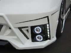 エリシオン ジュールフロントバンパー専用4灯式フォグランプ(HID)