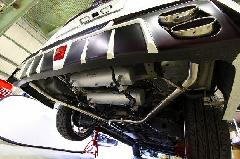 E51エルグランド ジュールリアバンパー専用左右出しマフラー