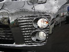 30プリウス前期 純正バンパー専用4灯ルックフォグランプカバー