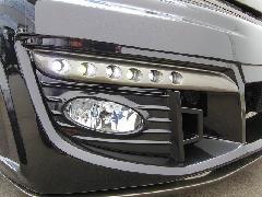 エリシオンプレステージ ジュールフロントバンパー専用LEDデイランプ