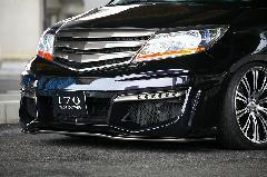 エリシオンプレステージ フロントバンパースポイラー+専用リップスポイラー