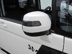 RKステップワゴン後期 ドアミラーウインカーカバー(スモーク)