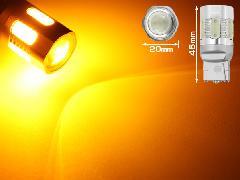 20ヴェルファイア LEDウインカーバルブ T20オレンジ