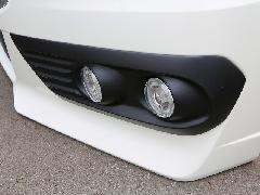 RKステップワゴン 後期スパーダ純正バンパー専用4灯式フォグランプキット(HID)