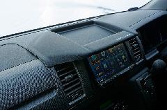 200ハイエースナロー ナビモニターバイザーVer1