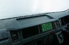 200ハイエースワイド ナビモニターバイザー Ver1