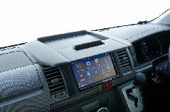 200ハイエースナロー ナビモニターバイザー Ver2