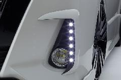 80ノア Siグレード用LEDデイランプキット FRP未塗装