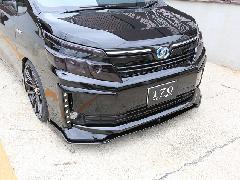 80VOXY V/Xグレード用 フロントフラップスポイラー塗装済み(2色塗り分け)