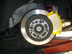 86専用 ブレーキキャリパーカバーVer2 ヘアライン仕様