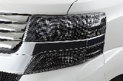 N−BOXカスタム ヘッドライト&ウインカーカバー4Pセット(ライトスモーク)