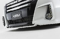 80ノア Siグレード用 セブンフロントリップスポイラー(2色塗り分け塗装済み)