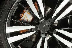 30アルファード&ヴェルファイア ブレーキキャリパーカバーVer4 ヘアライン仕様 レッドゴールド