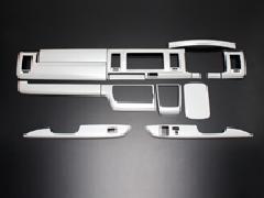 200ハイエースワイド 4型専用 インテリアパネル 14ピース