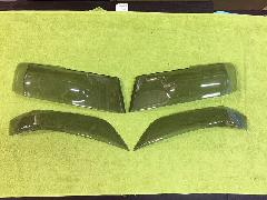 N−BOXカスタム ヘッドライトカバー(ライトスモーク) アウトレット