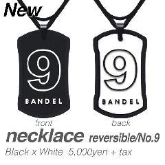 BANDEL ナンバーネックレス No.9