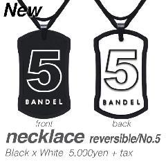 BANDEL ナンバーネックレス No.5