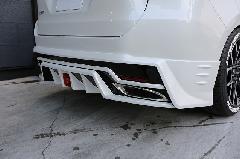 60ハリアー ジュール リアアンダースポイラー FRP未塗装