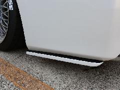 30ヴェルファイア V/Xグレード用 リアサイドフラップFRP未塗装
