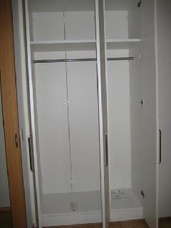 個人邸宅 引き戸型収納家具