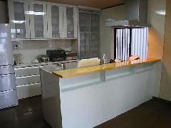 個人邸宅 システムキッチン