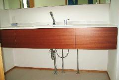 個人邸宅 洗面化粧台
