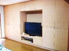 個人邸宅 テレビ棚