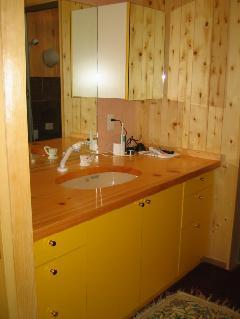 個人邸宅 オーダー洗面台