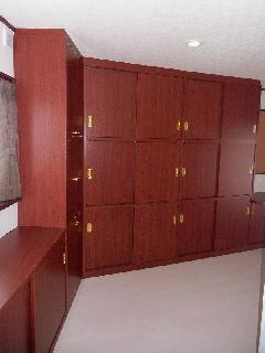 個人邸宅 壁面収納棚