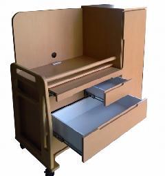 自立支援家具 手すり付き多機能チェスト