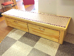 オリジナル家具 収納付畳イス