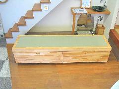 オリジナル家具 移動式畳収納棚