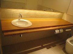 商業施設 トイレカウンター