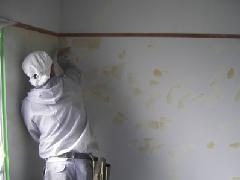 室内の壁塗り替え