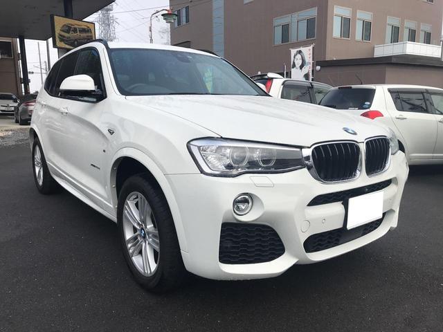 BMW X3 xDrive Mスポーツ 4WD