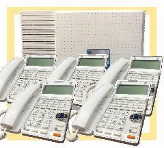 主装置 + 固定電話機5台セット