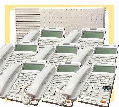 主装置 + 固定電話機8台セット