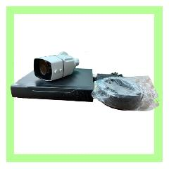 広角防犯カメラ本体1台 + 録画装置