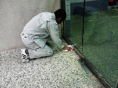 品川区 ビルの床清掃