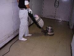 目黒区 ビルの床清掃�A