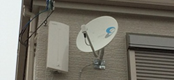 新築以外のテレビアンテナ取り付け工事