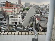 BS・CS(スカパー含む)アンテナ取り付けベランダ工事