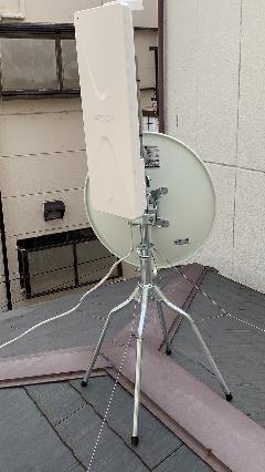 ケーブル視聴より地上デジタル放送への移行工事