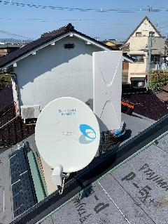 地上デジタル・衛星アンテナ工事