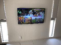 テレビ壁掛け工事