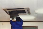 天井埋込カセットタイプエアコン洗浄作業の流れ3