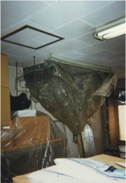 天吊タイプエアコン洗浄作業の流れ6